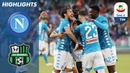 Napoli 2 0 Sassuolo Goals from Ounas and Insigne ensure comfortable win Serie A