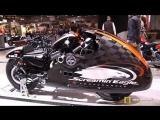 2018 Harley Davidson Forty Eight Lakestar Custom Bike by H-D La Rochelle - 2017 EICMA