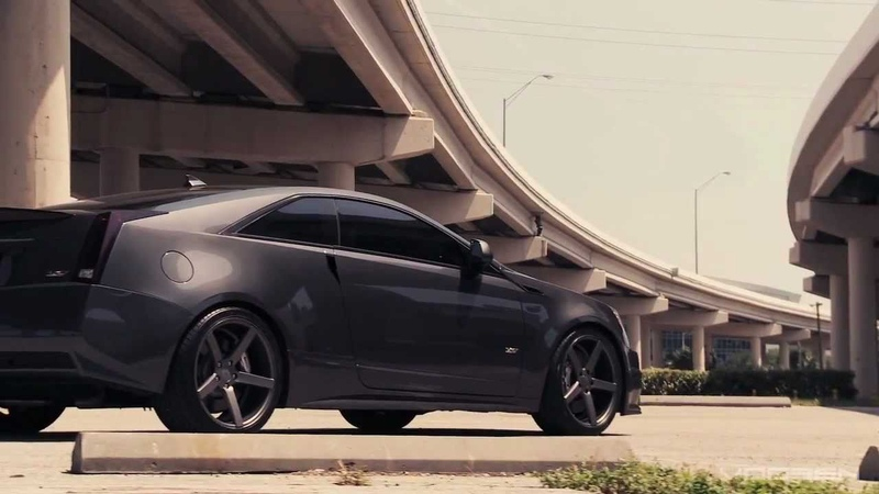 Cadillac CTS-V | Supercharged Coupe | Vossen CV3