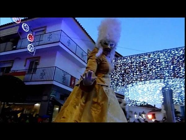 CABALGATA REYES MAGOS 2019 ALHAURIN de la TORRE Malaga, fiesta de noche, 05/01