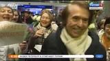 RAPHAEL en tv rusa.Noticias.San Petersburgo.21.03.2019.