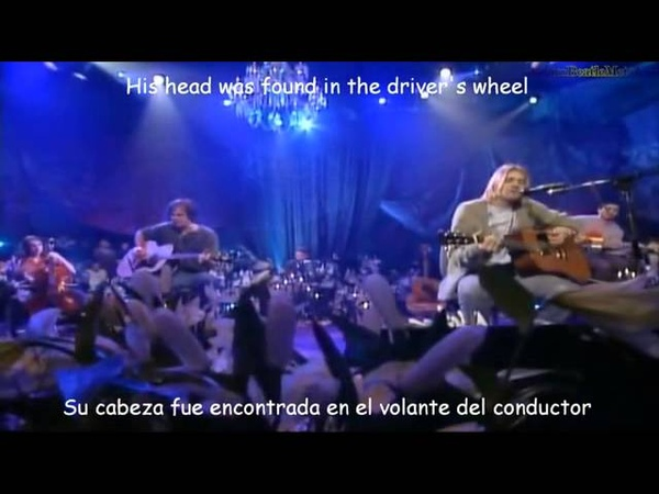 Nirvana-Where Did You Sleep Last Night (Subtitulado)