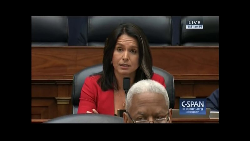 BREAKING: Tulsi Gabbard demands answers from Defense Secretary James Mattis on attacking Syria