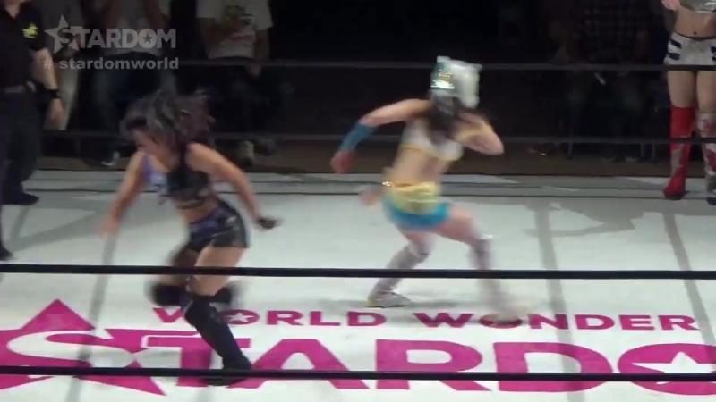 05 Mayu Iwatani, Starlight Kid Tam Nakano vs. Queens Quest (AZM, Konami Momo Watanabe)