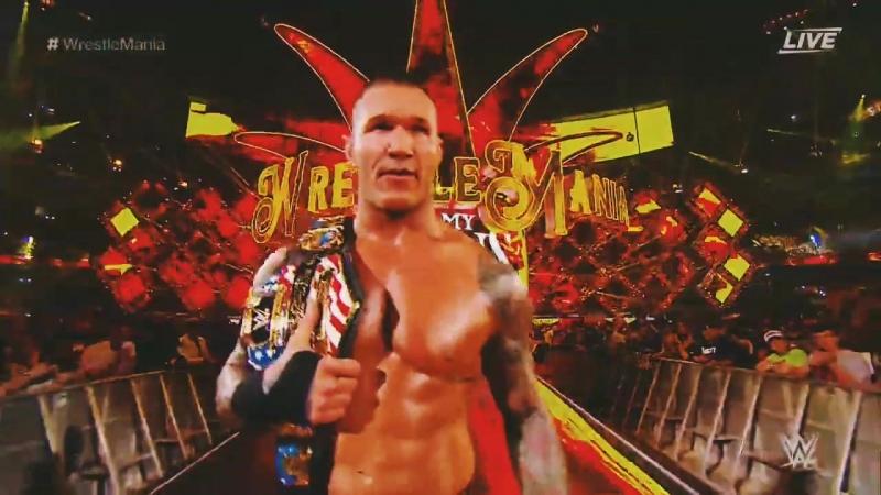 WrestleMania 34 Randy Orton vs Jinder Mahal vs Bobby Roode vs Rusev USA Champions Highlights