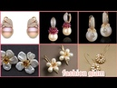 Top stylish Pearl and diamond earclips styles for women's pearls earrings