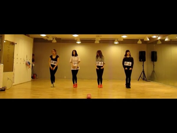 Girl's Day - Expectation Mirrored Dance Practice
