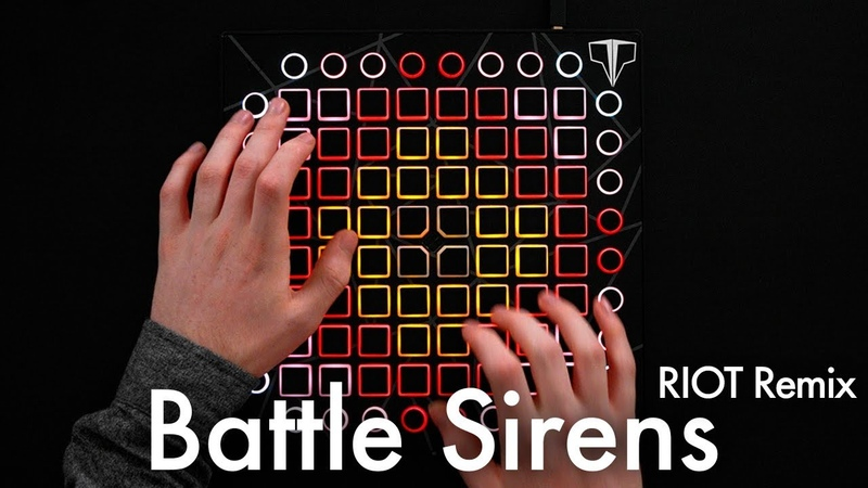 Knife Party Tom Morello - Battle Sirens (RIOT Remix) Launchpad Cover