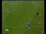 Супер-Гол Роналдиньо. Челси - Барселона. 18 Лига Чемпионов 04-05г.
