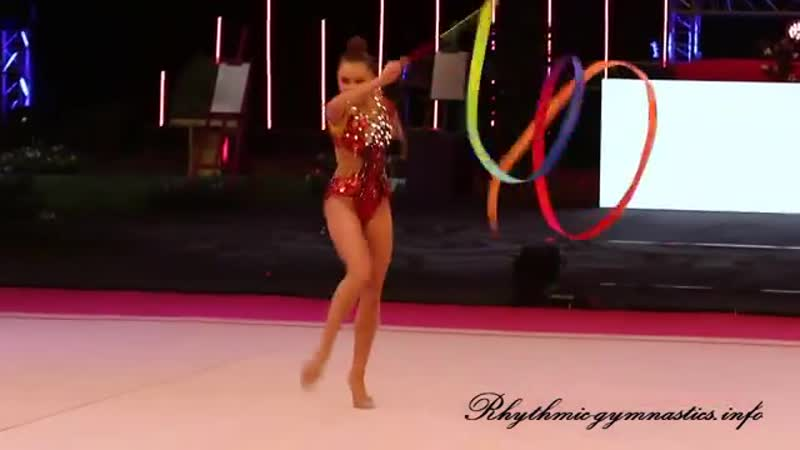 Арина Аверина (лента) — Euskalgym 2018 Бильбао, Испания