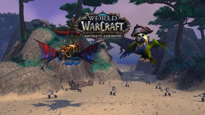 New Mount and Pet: Dreadwake Mount and Cap'n Crackers the Baby Parrot
