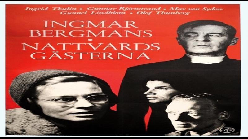 1961 Ingmar Bergman - Nattvardsgästerna - Ingrid Thulin, Gunnar Björnstrand, Gunnel Lindblom