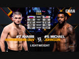 UFC 229 Free Fight Khabib Nurmagomedov vs Michael Johnson
