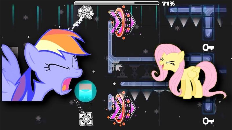 Pony Maestro YTPMV [PonyDub]   Geometry Dash