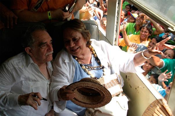 За каждым великим мужчиной стоит не менее великая женщина! 55 лет вместе: история любви Габриэля Гарсия Маркеса и Мерседес Барча
