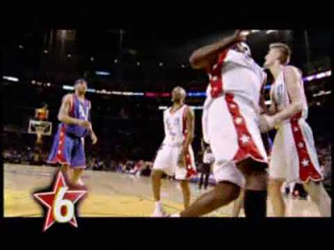 Top 10 NBA All Star Game 2004
