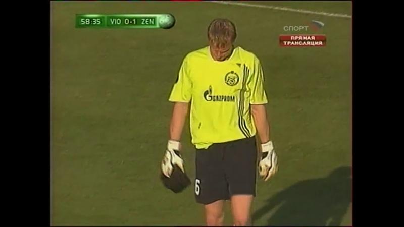 ВиОн 0-2 Зенит / 2007-2008 UEFA Cup / FC ViOn vs FC Zenit