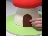 мухомор-торт