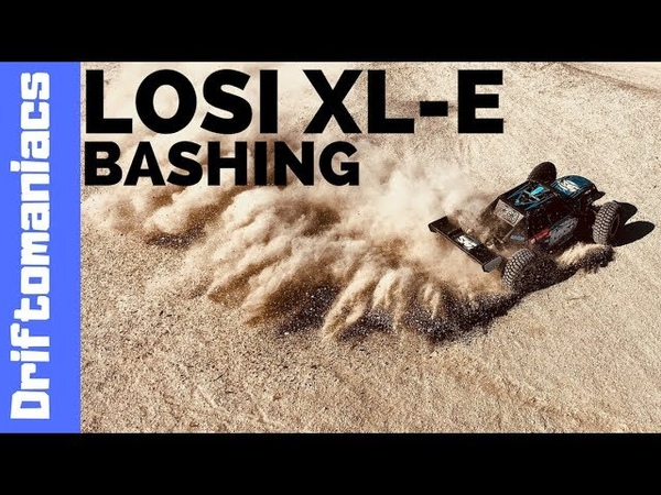 LOSI XL-E Bashing At The BMX Track