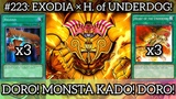[Duel Links] DORO! MONSTA KADO! EXODIA ft. Heart of The Underdog!