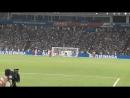 Роналду пробивает решающий штрафной удар на последних минутах матча Испания-Португалия чемпионат мира по футболу фифа супергол