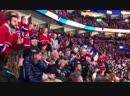 Фанаты Монреаля поздравляют Tomas Plekanec с его 1,000 игрой в NHL.
