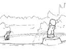 Русалочка против писающего мальчика/ Ariel vs boy peeng