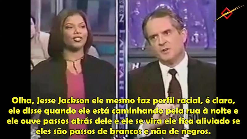 Jared Taylor Discute Perfil Racial | The Queen Latifa Show