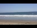 Тихий океан в Санта Барбаре, Калифорния