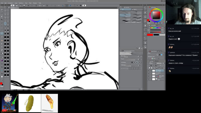 Clip Studio Paint Comics Draw - Рисуем Арт и Комиксы