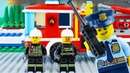 LEGO City Fire Truck STOP MOTION LEGO Fire Truck Rescue Brick Building LEGO City By Billy Bricks