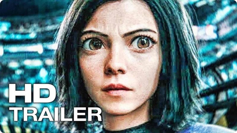 АЛИТА׃ БОЕВОЙ АНГЕЛ ✩ Трейлер 3 (2019) Роза Салазар