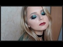 Make Up Tutorial Lana Lighter| smoky eyes gren make up | макияж зеленые смоки