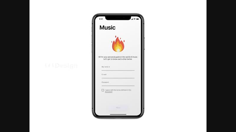 Sirenix Music app with Light mode - preview