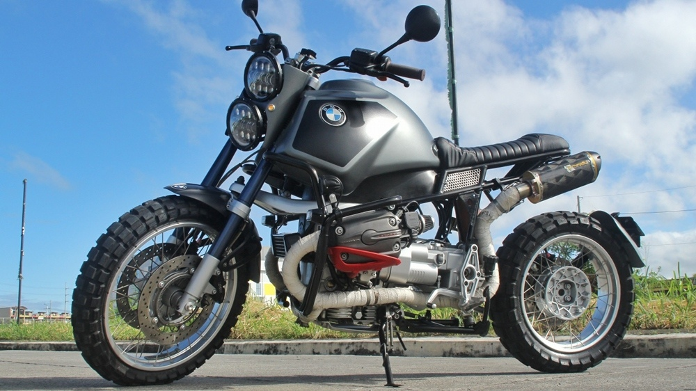 Iron Macchina Customs: скрэмблер BMW R1150GS