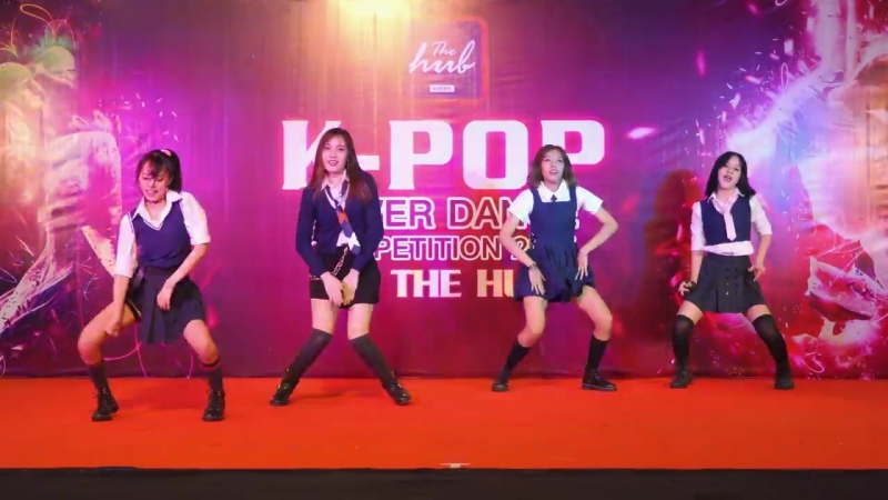170716 4K UZI cover BLACKPINK Intro AS IF ITS YOUR LAST Ft BOOMBAYAH @ The Hub 2017 Au
