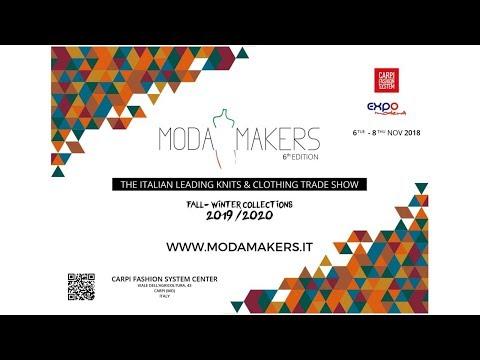 Paola Davoli fashion knitwear at Modamakers November 6, 2018