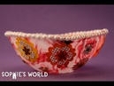How to Make a Mod Podge Fabric Bowl Sophie's World