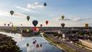 100 oro balionų danguje virš Kauno
