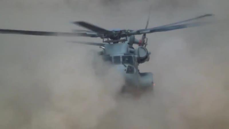 CH-53K Degraded Visual Environment Testing, Yuma, Arizona 2018
