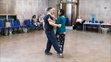 Tango Lesson Contemporary, Organic Movement and Patterns