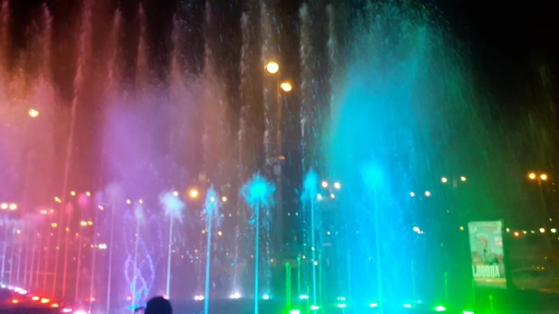 фонтан на киевки