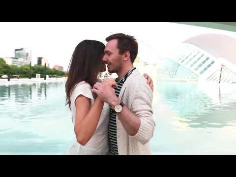 Vadim and Marija Kizomba in City of Arts and Sciences Valencia