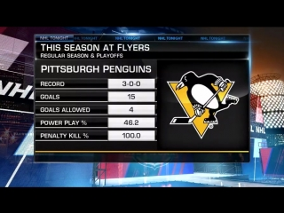 NHL Tonight: Pens win Game 3 Apr 15, 2018