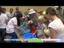 В кемеровском музее дети искупали экзотических животных