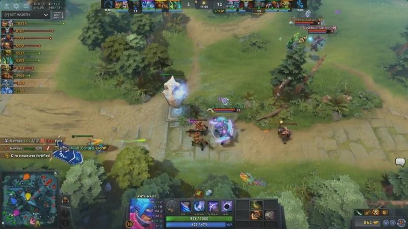 [GRAND FINAL]The International [2017] Team Liquid - Newbee (1 game) комментирует VILAT