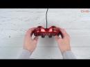 Распаковка геймпада Ritmix GP-007 Red _ Unboxing Ritmix GP-007 Red