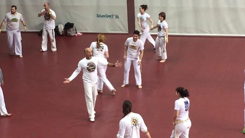 Mestre Camisa - Abadá Capoeira Europeus 2016