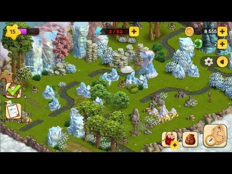 Klondike Adventures Green Lace Зеленое Озеро Мобильный Клондайк 5