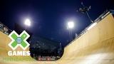 Marcelo Bastos qualifies first in Skateboard Vert X Games Minneapolis 2018